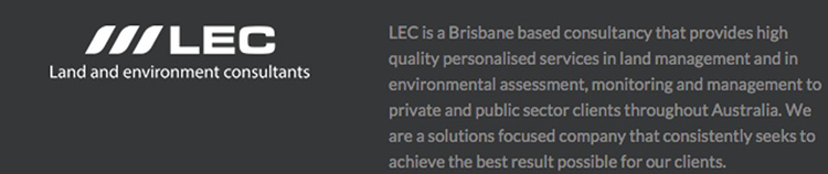 Rod Janssen LEC Land and Environment Consultants